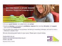 Have you got a spare room? could you support a young homeless person whilst being paid?
