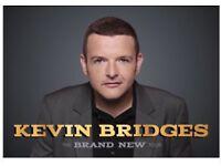 2 Seats Hydro Glasgow Block 226 Row H Seats 125 & 126 18th October 2018 Kevin Bridges