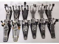 BASS DRUM PEDALS For Drum Kit, Sold Foot Plates: Mapex, Tama, Premier, Pearl, Sonor, Gibraltar