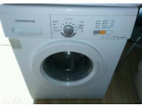 Daewoo washing machine. Only six months old. Possible delivery