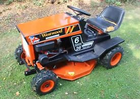 Westwood W6 Ride on mower, This machine is registered at DVLA and comes with V5