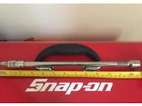 """SNAP-ON Tools 3/8"""" Drive 11"""" Long Locking Knurled Friction Ball Extension-NEW"""
