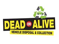 DEAD OR ALIVE VEHICLE DISPOSAL SCRAP MY CAR SELL MY CAR CASH FOR CARS