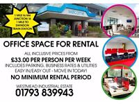 AFFORDABLE OFFICE SPACE TO RENT
