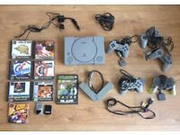 Playstation 1 in great conditions with games