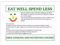 Eat Well Spend Less - Free cookery course at St John's Family Centre
