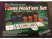 Professional Texas Hold'em Set