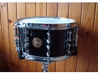 Pearl CZX Studio Birch Drum Kit Midnight Quartz & Pearl Ltd Maple Snare Protection Racket Cases