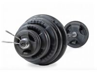 Bodymax 145kg Olympic Barbell Kit with 7 ft bar