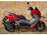 Yamaha NMAX 125 in red, One owner with ONLY 906 miles!