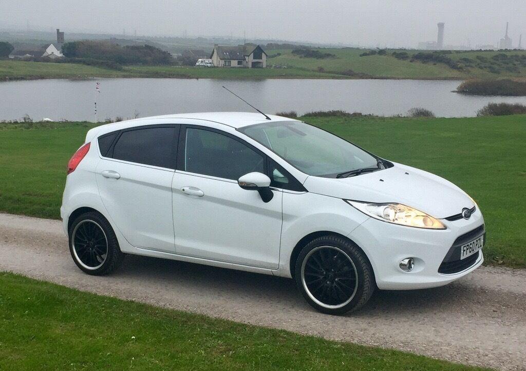 Ford Fiesta Titanium 1.6 TDCI - White - 60 Reg - 56k - FSH - £ & Ford Fiesta Titanium 1.6 TDCI - White - 60 Reg - 56k - FSH - £20 ... markmcfarlin.com