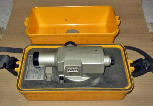 Topcon Model AT-B3 Autolevel in Hard Carrying Case