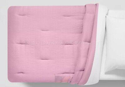 Toddler Bed Comforter Pink 42 X 58 Blanket Seersucker Pillowfort