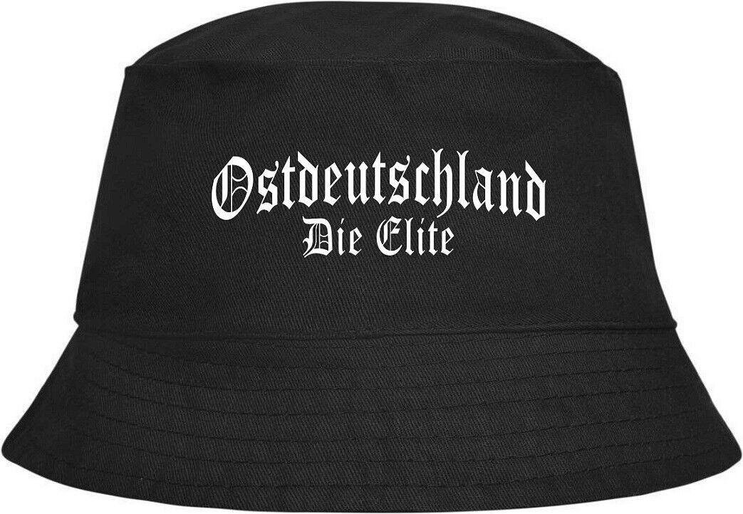 Fischerhut Anglerhut 100% Baumwolle Ostdeutschland Die Elite Reichsadler Osten
