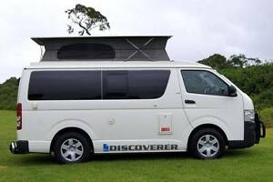 Toyota Discoverer Campervan - Turbo Diesel, Rear Shower & 4 Seats Albion Park Rail Shellharbour Area Preview