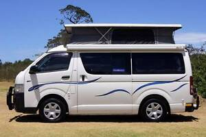 Toyota Hiace Automatic Frontline Campervan with Low Km Albion Park Rail Shellharbour Area Preview