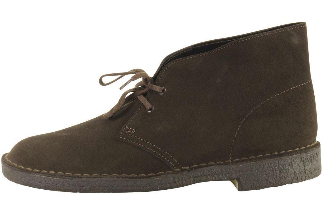 Clarks Originals Men's DESERT BOOTS Brown Suede 26138229 c