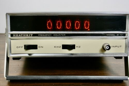 Heathkit IB-101 Freqency Counter Preowned Tested and working