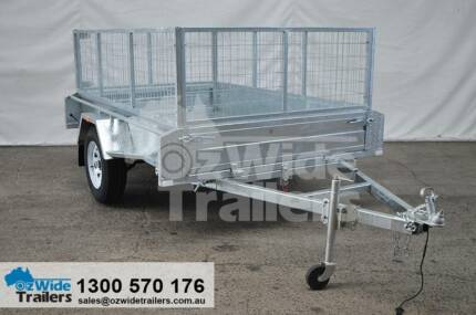 8x5 Single Axle Trailer to SYDNEY HIGH QUALITY