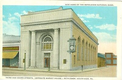 South Side Bethlehem Pa The New Home Of The Bethlehem National Bank  3Rd   Adams