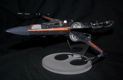 acrylic display stand for Disney store Poe Boosted Xwing Star Wars Last - Poe For Kids