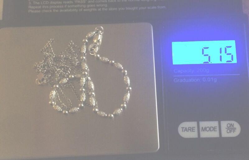 14k White Gold Jewelry Lot 5.15g
