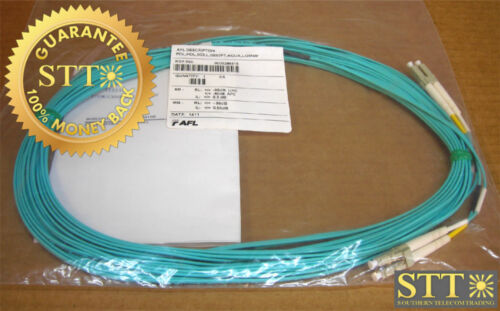Afl Dual Fiber Cable With Dual Lc/lc Ends Mm 30 Ft New