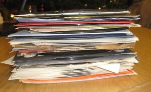 Lot of 200 plus 45RPM Vinyl Records- Great jukebox stuffer