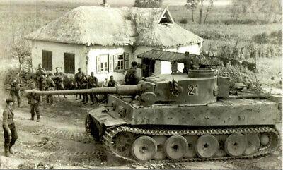 Tiger Panzerkampfwagen V Zweiten Weltkrieg Wandbild