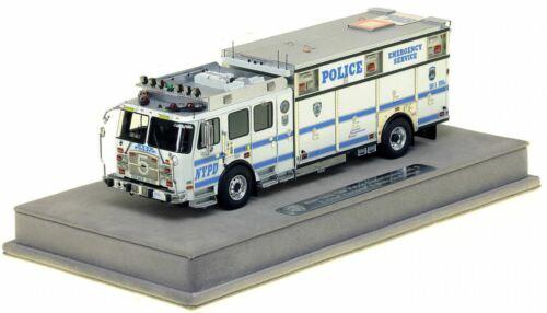 E-ONE NYPD ESS 5  - Staten Island 1/50 Fire Replicas FR066-5 Brand New