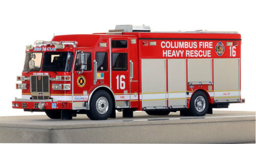 Columbus Division of Fire Sutphen Heavy Rescue 16 1/50 Fire Replicas FR060-16
