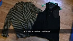 Business casual tops - mostly size medium