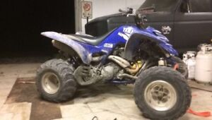 Yamaha raptor 660 wanted in any condition. Blown up seized