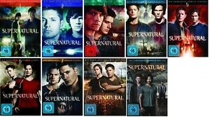 Supernatural Staffel/Season 1+2+3+4+5+6+7+8+9 * NEU OVP * DVD Set