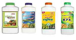 Parle-Organic-Fertilizers-Combo-Pack-of-4-Garden-Bloom-Aminoz-Humic-and-NPK