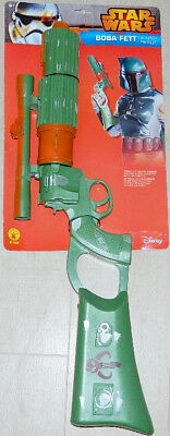 Classic Star Wars Boba Fett Blaster Prop Costume Toy with Battle Wear NEW SEALED - Boba Fett Blaster