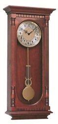 Hermle 70802-N92214 Chatham Cherry Finish Regulator Wall Clock