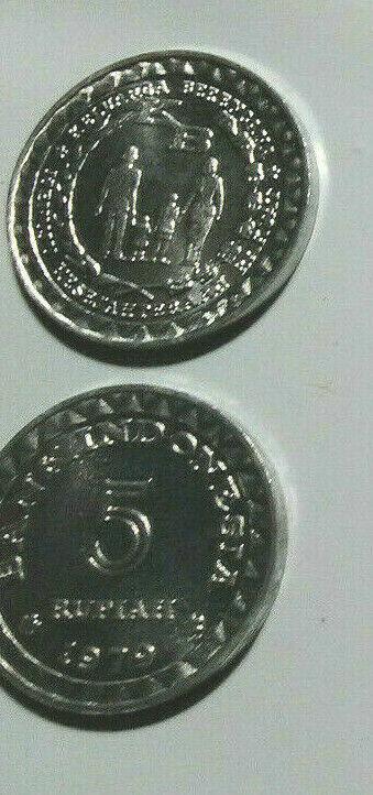 INDONESIA, 3 PIECE VINTAGE UNCIRCULATED 1970