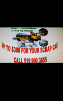 CASH FOR CARS !! CALL 519 990 3655