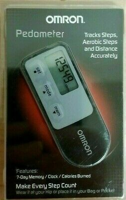 Omron Tri-Axis Alvita Pedometer, Calorie Burn Counter, 7 Day Memory Retail -