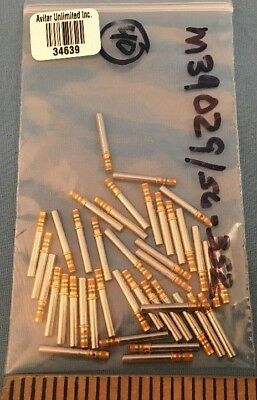 40 New M3902956-352 Mil-spec Connector Contact Pins 16-20 Awg Crimp