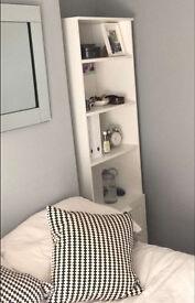 Ikea double drawer bookshelf