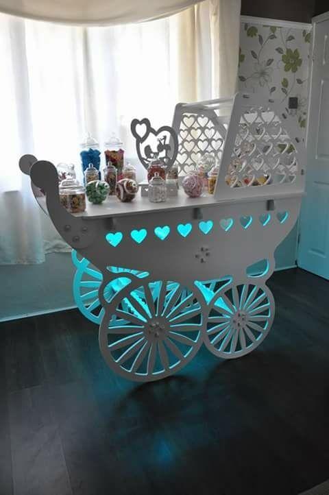 pram candy cart