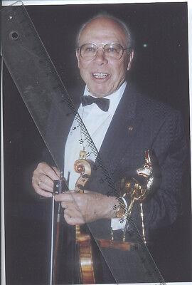 Foto Geiger HELMUT ZACHRIAS - Aufnahme von 1995 - Pressefoto Violinist