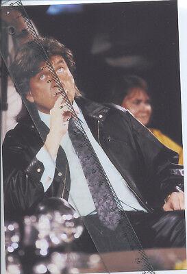 Foto des Musikers LES HUMPHRIES - Aufnahme von 1989 - Pressefoto - Pop Singers