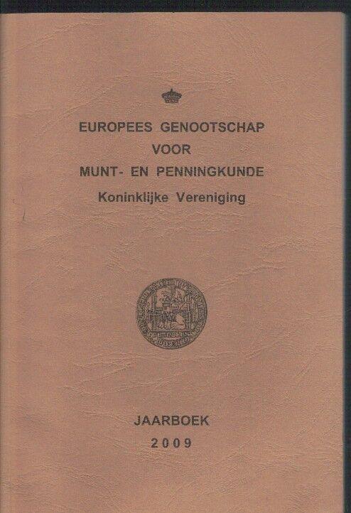 Boek ,Europees genootschap voor munt-en penningkunde Koninklijke vereniging ,Jaa