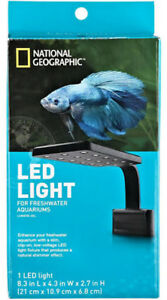 BRAMPTON National Geo LED Aquarium Light-BRAND NEW