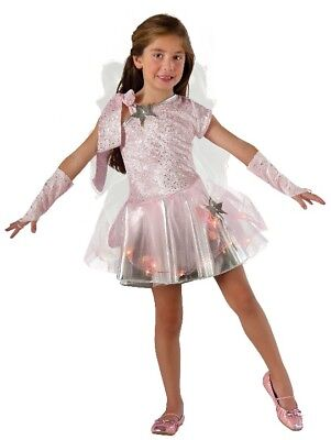 Wishing Fairy Pixie Princess Tinkerbell - Light Up Dress, Gloves, Wings Child XS - Tinkerbell Costume Teenager