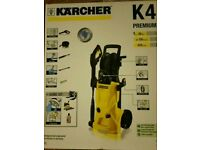 Karcher k4 premium pressure washer with home kit