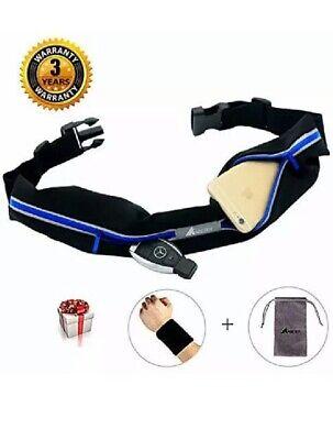 ABETER Best Running Belt Pocket Belt Waist Pack Pouch Sweatproof